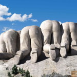 Due to the governmental shutdown, Mt. Rushmore, along with hundreds of other national parks, is closed for the duration.